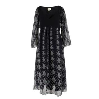 Temperley London Midi-Length Silk Dress