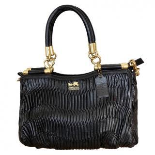 REDUCED! Coach Large Black Shoulder Handbag