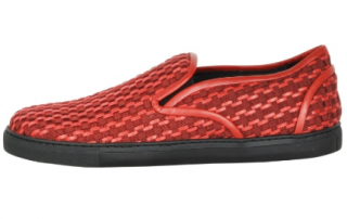 Vivienne Westwood Men's Red Woven loafers