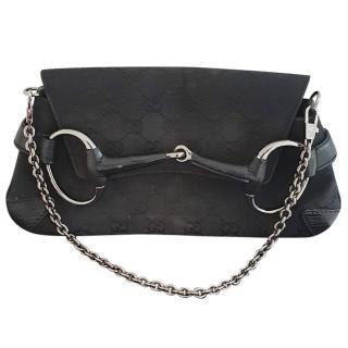 GUCCI monogram horsebit handbag