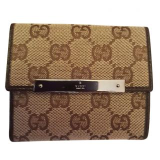 Gucci Monogram coin wallet