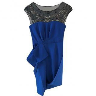 REDUCED! BCBG Max Azria Royal Blue Embellished Dress