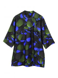 Christopher Kane oversized atom print T-shirt
