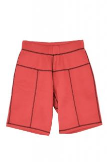 Christopher Kane scuba coverstitch grid shorts