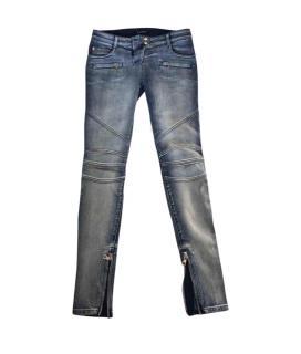 Balmain Biker Denim Jeans