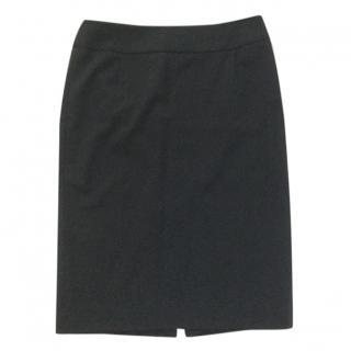 Hugo Boss black pencil skirt