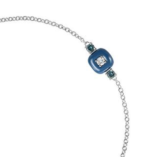 Nikos Koulis Diamond & Enamel Bracelet 18ct Gold