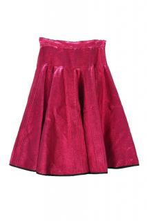 James Long pleated a-line skirt