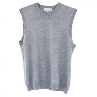 Nigel Hall Grey Sweater Vest