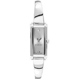 Gucci Ladies 109 Silver Dial Diamond Watch