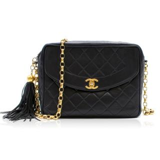 Chanel Quilted Black Cross-body Bag