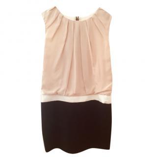 Maje Color Block Dress
