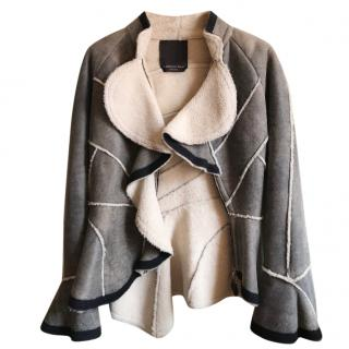 ERMANNO SCERVINO Sheepskin Lined Jacket