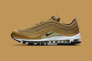 Nike Air Max 97 Metallic Gold Italy- Limited Edition
