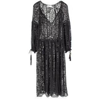 Zimmermann Lace Midi-Length Dress