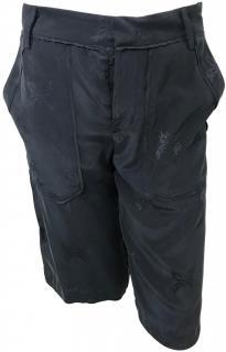 Zadig & Voltaire Grey Silk Shorts