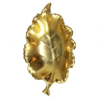 Carine Gold Leaf Jewellery Dish