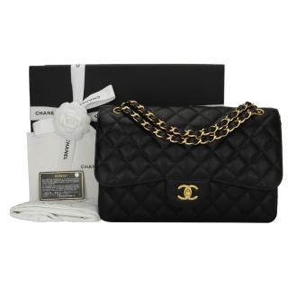 Chanel Classic Jumbo Double Flap Bag Caviar Bag