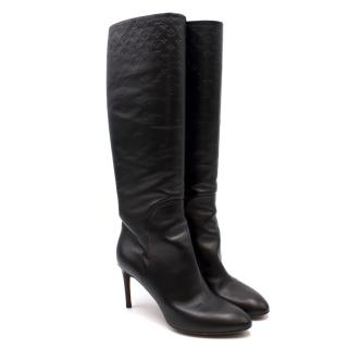 Louis Vuitton Monogram Heeled Boots