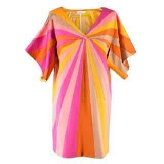 Emilio Pucci Silk-Blend Sunset Dress