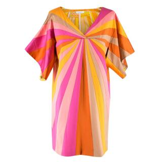Emilio Pucci Silk-Blend Sunset Dress