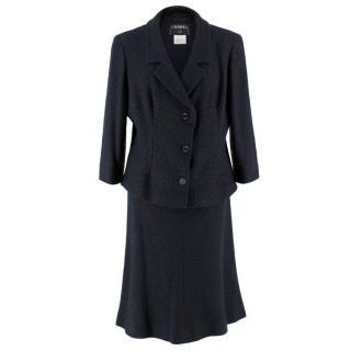 Chanel Tweed Blazer and Skirt Coordinate Set