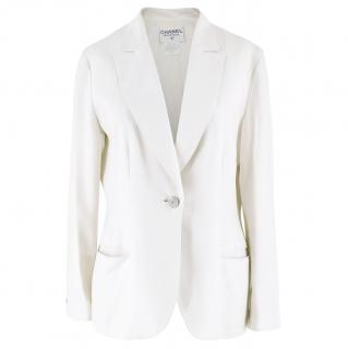 Chanel Linen Blazer