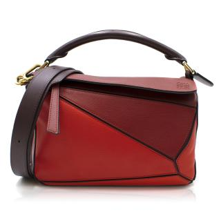 Loewe Red Limited Edition Puzzle Bag