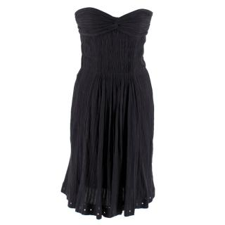 Isabel Marant Etoile Ruched Strapless Mini Dress