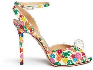 Charlotte Olympia Sophia Charm Skull Shoes