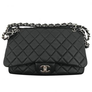 Chanel Easy Lambskin Leather Handbag