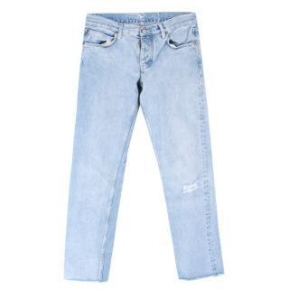 M.i.H Distressed Boyfriend Jeans