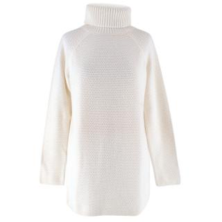 Tory Burch Cream Wool Knit Sweater