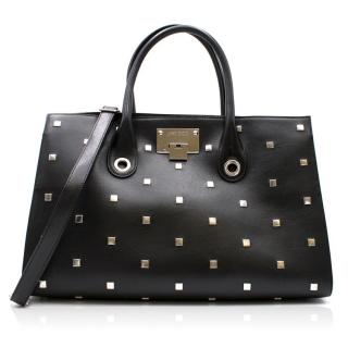 Jimmy Choo Studded Leather Tote