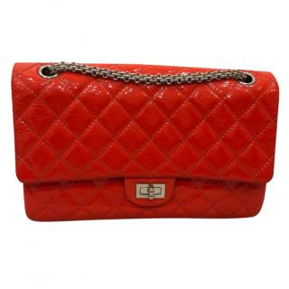 Chanel 2.55 Reissue Quilted Patent Leather Classic Medium Flap Bag