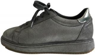 Brunello Cucinelli Silver Sneakers