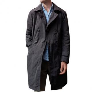 Etro Grey Overcoat