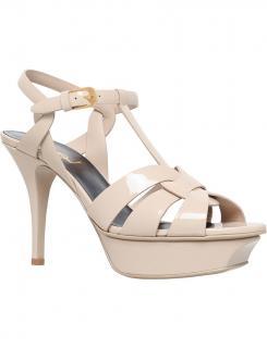 Saint Laurent YSL Tribute 75 Patent Leather Sandals