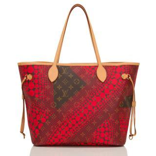 Louis Vuitton Yayoi Kusama Limited Edition Monogram Canvas Bag