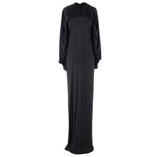 Rick Owens Maxi-Length Silk Dress