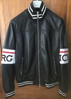 Iceberg Biker Jacket with Maxi-logo