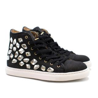Charlotte Olympia Bejewelled Trainer