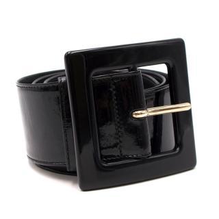 Yves Saint Laurent Patent Leather Belt