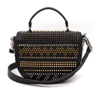 Christian Louboutin Panettone Studded Satchel Bag