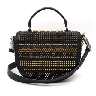 Christian Louboutin Panettone Studded Satchel Bag
