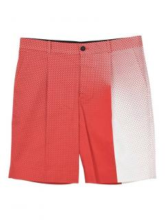 Jonathan Saunders red and white polka dot shorts
