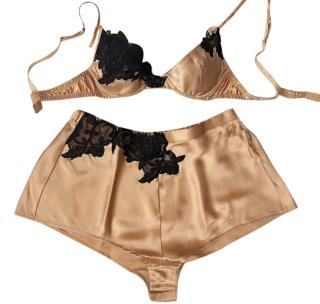 La Perla Silk Embroidered Lingerie Set