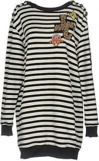 Just Cavalli Striped Oversized Sweater