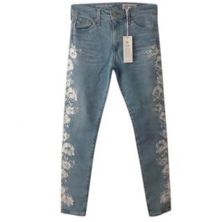 AG Brand New Farrah Skinny Ankle Jeans