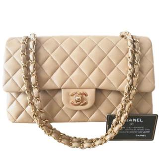 Chanel Quilted Lambskin 2.55 Vintage Classic Double Flap Bag